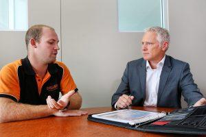 Brett Burden teaching business success to fast starters