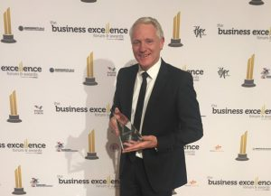 Action Centre WIN at Business Excellence Awards night