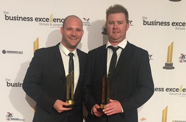 Action Centre client LBD Homes wins big at Business Forum Awards