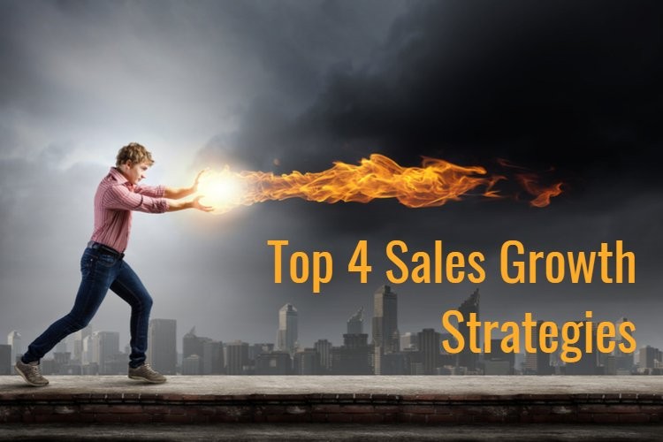 Top 4 strategies for sales growth in small business